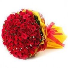 50 Red Roses Romantic Bouquet