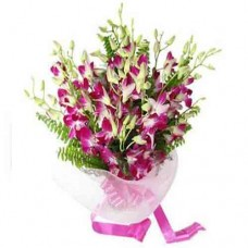 Orchid Flowers Hand Bouquet