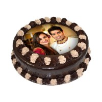 Half Kg Chocolate Photo Cake