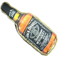 Jack Daniel Whiskey Bottle Shape Cake