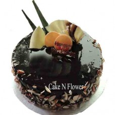Chocolate Dry Fruits Cake