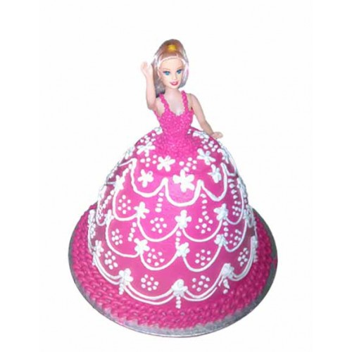 Barbie Doll Shape cake Design 5 Online Delivery in Noida ...