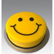 Smiley Shape Cake